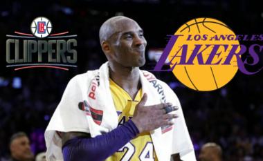 Shtyhet derbi lokal në mes të Lakers dhe Clippers shkaku i vdekjes së Kobe Bryant