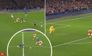 Vrapimi rreth 70 metra i Martinellit dhe rrëshqitja e Kantes tek goli i Arsenalit bëhen virale