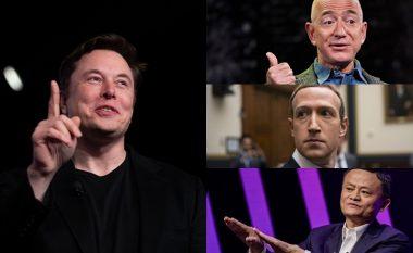 Musk shpallet udhëheqësi më frymëzues për vitin 2019 - ndiqet nga Bezos, Zuckerberg dhe Ma