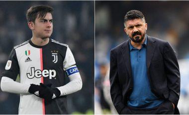 Dybala: Gattuso është i çmendur, kam kaluar shumë mirë me të te Palermo