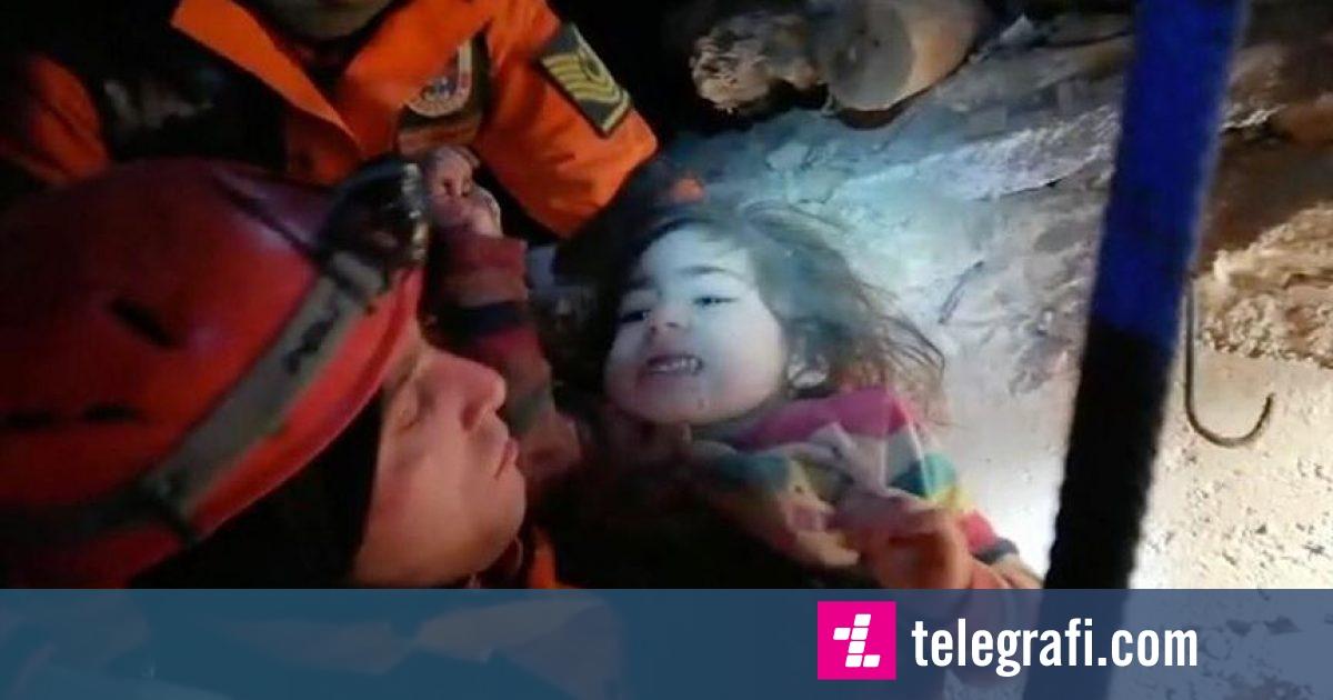 Dyvjeçarja shpëtohet pas 24 orësh nën rrënoja nga tërmeti në Turqi