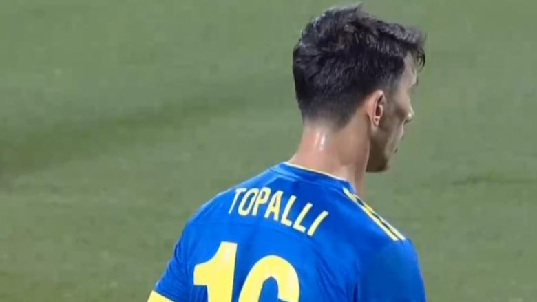 Jetmir Topalli i lumtur që debutoi te Kosova