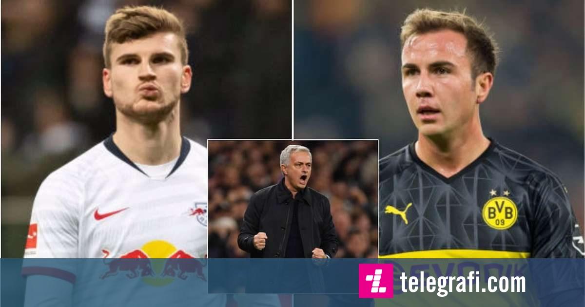 Mourinho kërkon transferimin e Werner dhe Gotze te Tottenhami