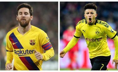 Messi dhe Sancho: Mbretërit e golave dhe asistimeve këtë sezon, askush nuk ka bërë si kjo dyshe