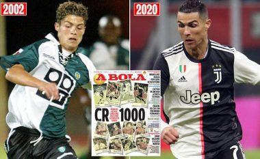 Ronaldo afër shifrave të pamundura – sot mund ta zhvillojë ndeshjen e 1000-të në karrierë ndaj SPAL - 18 vite karrierë, nga Sporting Lisbona deri te trofetë