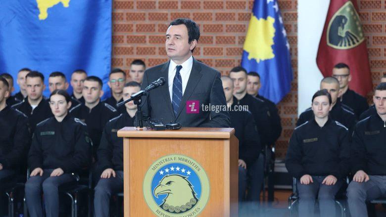 Kurti para ushtarëve të FSK-së: Do ta bëjmë të detyrueshëm shërbimin ushtarak