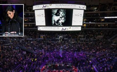 Gjithçka çfarë ndodhi në ceremoninë përkujtimore të Kobe dhe vajzës së tij, Gianna - nga fjalimi emocional i Vanessa Bryant e deri te interpretimi emocional i Alicia Keys