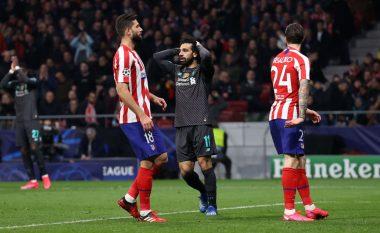 Atletico fiton betejën e parë ndaj Liverpoolit, gjithçka vendoset në Anfield
