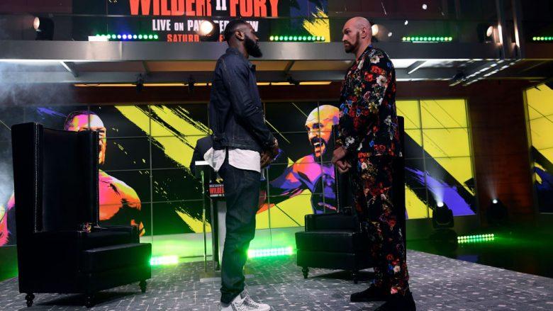 Deontay Wilder dhe Tyson Fury (Foto: Kevork Djansezian/Getty Images/Guliver)