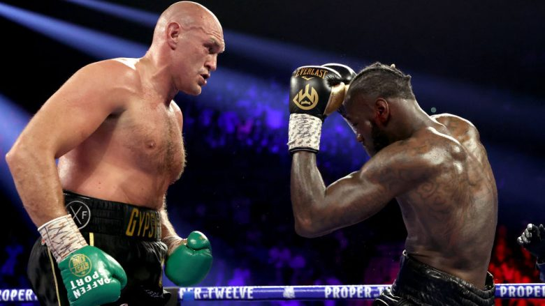 Tyson Fury dhe Deontay Wilder (Foto: Al Bello/Getty Images/Guliver)