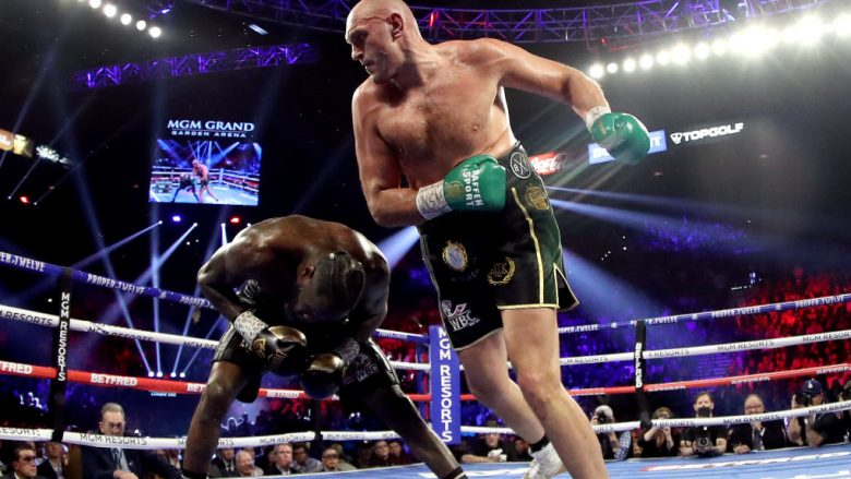 Deontay Wilder dhe  Tyson Fury (Foto: Al Bello/Getty Images/Guliver)