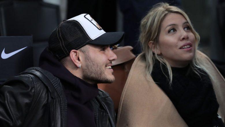 Mauro Icardi e Wanda Nara.  (Foto: Emilio Andreoli/Getty Images/Guliver)