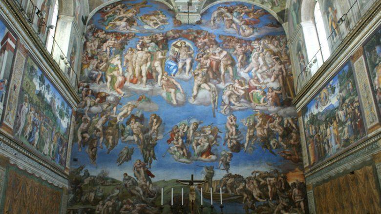 Pamje nga Kapela Sistine