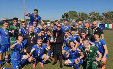 Kosova U19 mposht Moldavinë në finale, fiton turneun 'Roma Caput Mundi'