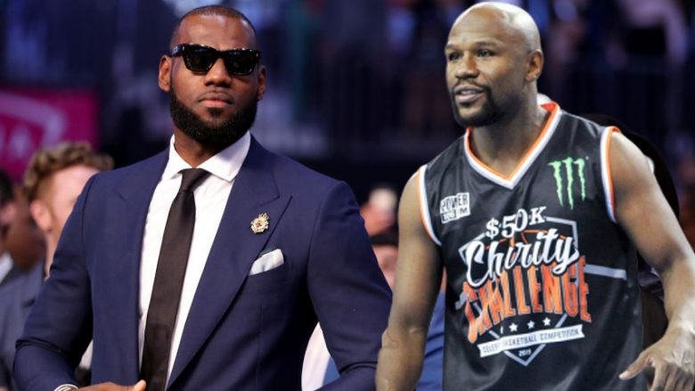 LeBron James, Floyd Mayweather (Foto: Getty Images/Guliver)