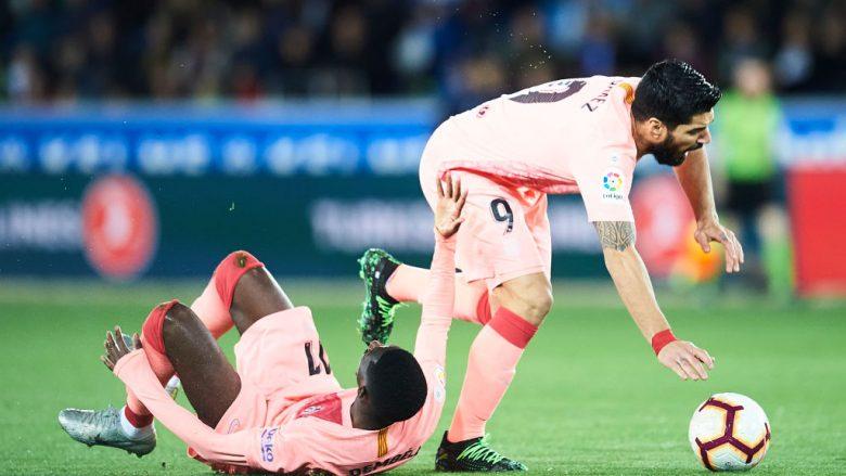 Ousmane Dembele dhe Luis Suarez (Foto: Juan Manuel Serrano Arce/Getty Images/Guliver)
