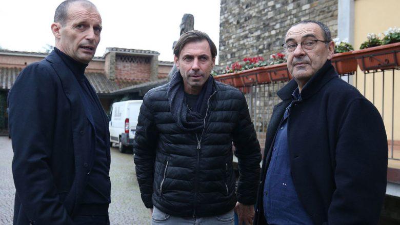 Massimiliano Allegri, Carmine Gautieri dhe Massimiliano Allegri (Foto: Gabriele Maltinti/Getty Images/Guliver)