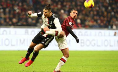 Milani 'bie' në fund, Juventusi barazon në minutat shtesë në gjysmëfinalen e Kupës së Italisë