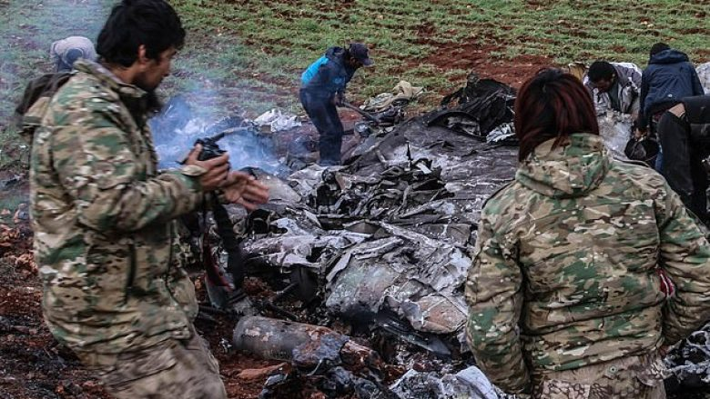 Rrëzohet helikopteri i dytë i regjimit sirian brenda katër ditësh