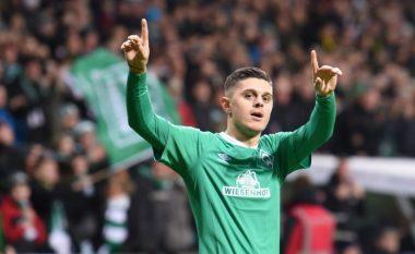 Goli i Milot Rashicës eliminon Borussia Dortmundin dhe dërgon Werderin në çerekfinale