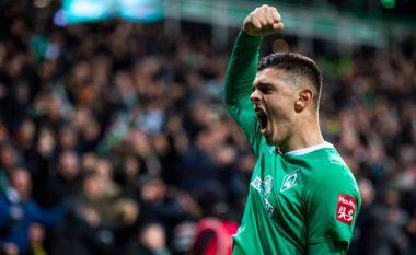 Me golin e shënuar ndaj Borussia Dortmund, Milot Rashica futet në histori të Werder Bremenit