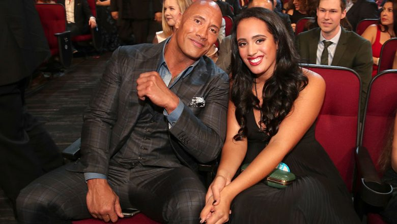 Dwayne Johnson dhe Simone Alexandra Johnson (Foto: Christopher Polk/Getty Images for People's Choice Awards/Guliver)