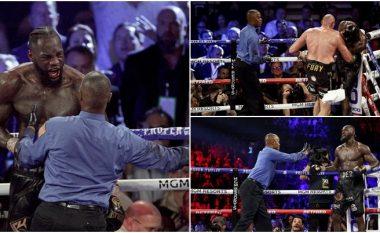 Gjyqtari i rimeçit Tyson Fury – Deontay Wilder thyen heshtjen, tregon se çfarë i tha amerikanit para se të ndërpritej përballja