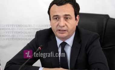 Kurti tregon hapat që po ndërmerr për heqjen e taksës ndaj Serbisë