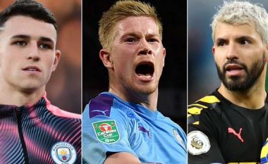 Parashikimi se ku mund të luajnë lojtarët kryesor nëse Manchester City detyrohet t'i shesë