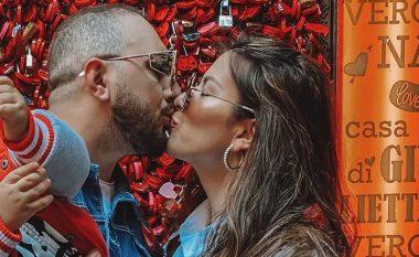 Gjiko dhe Elita vijnë me një imazh të ëmbël në ditën e të dashuruarve