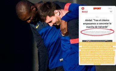Dramë te Barcelona: Messi iu kundërpërgjigjet kritikave të Abidal