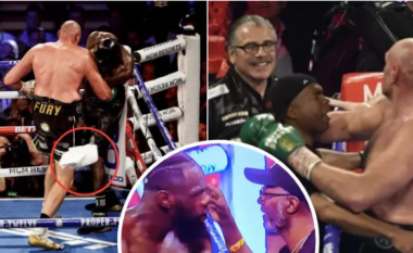 Deontay Wilder me teori të re pas humbjes ndaj Tyson Furyt në WBC – sqaron vendimin e stafit të tij për hedhjen e peshqirit në ring