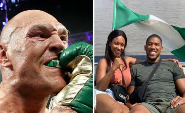 """Tyson Fury kishte mbrojtësen e dhëmbëve me shkrimin """"Nigeria"""" – tifozët mendojnë se ky veprim ishte i dedikuar për Anthony Joshuan"""