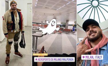 Gjiko dëshmon gjendjen e panikut nga coronavirusi në Itali, sjell video nga aeroporti i boshatisur në Milano