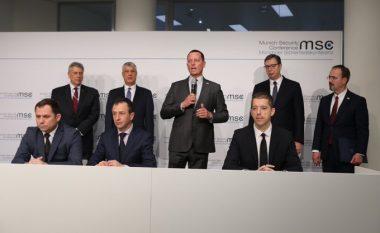 Marrëveshja për hekurudhat dhe autostradat ndërmjet Kosovës dhe Serbisë, deklarohet ambasada amerikane në Berlin