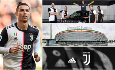 Efekti Ronaldo: Juventusi ka marr miliona euro më shumë nga marrëveshjet sponzorizuese prej ardhjes së portugezit