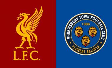 Formacionet zyrtare: Liverpooli kërkon raundin tjetër të FA Cup në ndeshjen e dytë ndaj Shrewsbury