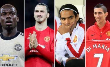 Tifozët e Manchester Unitedit zgjedhin transferimet më të mira që nga largimi i Sir Alex Fergusonit - Nga Mata tek Pogba e Falcao