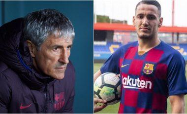 Trajneri i Barcelonës, Setien: Rey Manaj na duhet, besojmë në vlerat e tij