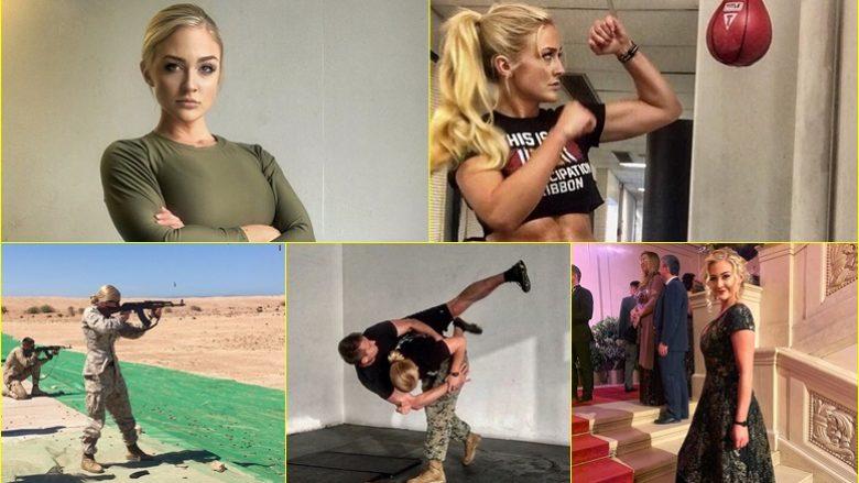 E quajtën 'Barbie' kur deshi të bëhej pjesë e marinës amerikane – biondja doli e para në klasë dhe në testet fizike të ushtrisë