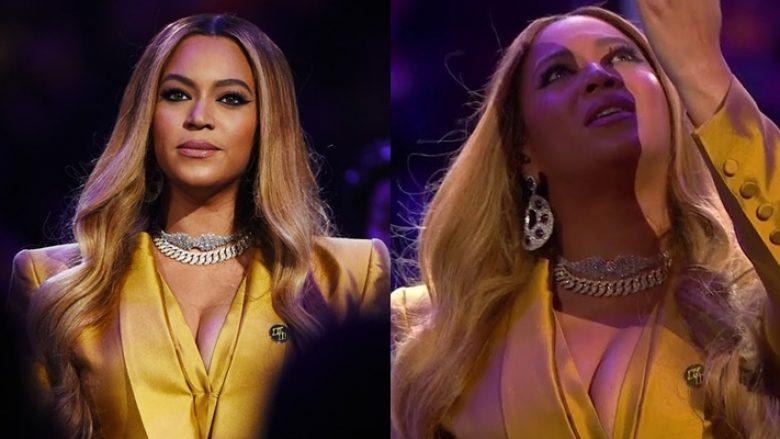 """Beyonce nis ceremoninë përkujtimore të Kobe Bryant me këngën e tij të preferuar """"XO"""""""