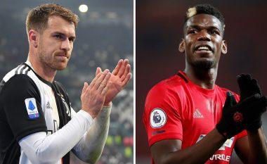 Juventusi ka gati ofertën për Unitedin, para plus Ramsey për Pogban
