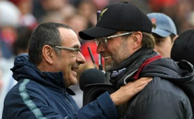 Sarri kundërpërgjigjet: Kloppi po bën lojë psikike, Liverpooli është më favorit se Juventusi në Ligën e Kampionëve