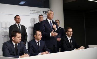 Thaçi: Nënshkrimi i marrëveshjes për autostradën dhe linjën hekurudhore me Serbinë, hap i shkëlqyeshëm drejt arritjes së një marrëveshje përfundimtare