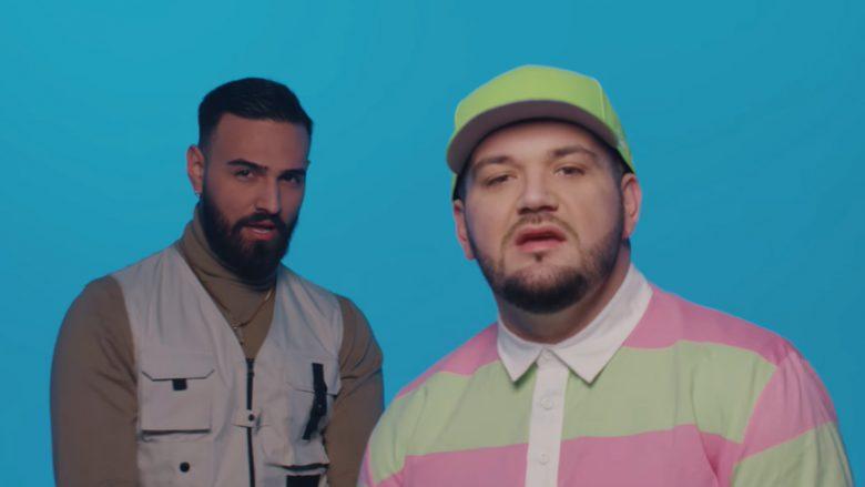 """Kevin Edmond dhe Vig Poppa në klipin e këngës """"Ye Ye Ye"""" (Foto: Screenshot/YouTube/Kevin Edmond/Sekuencë Studio)"""