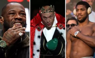 Renditja e re në peshat e rënda në boks: Fury rikthehet në krye