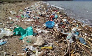 Moti me erë të fortë nxori në pah mbeturinat e hedhura nga qytetarët e pandërgjegjshëm në Liqenin e Ohrit
