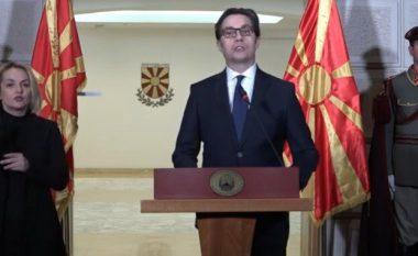 Presidenti Pendarovski shpall gjendje të jashtëzakonshme në Maqedoninë e Veriut