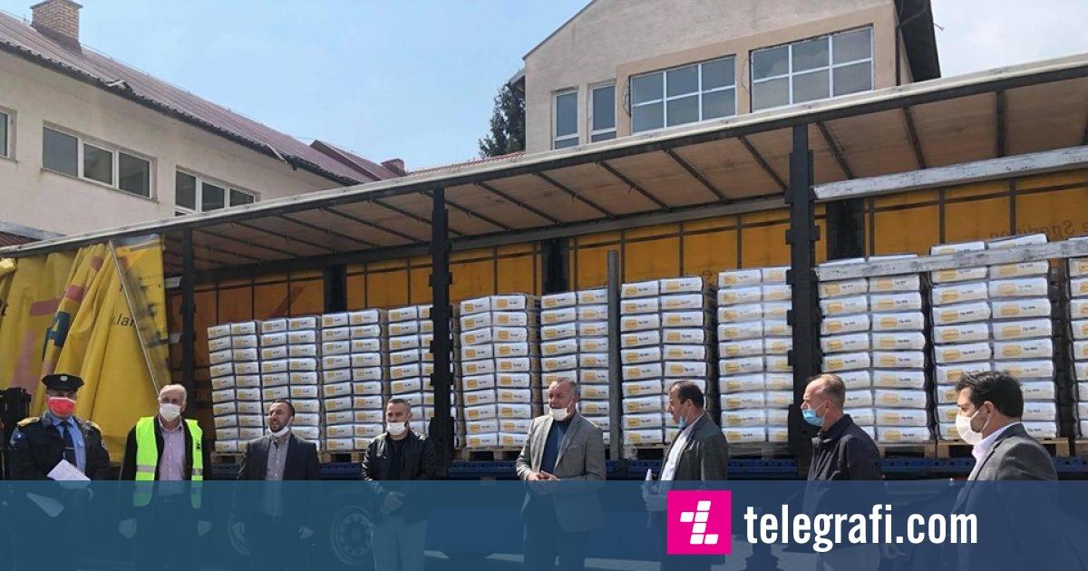 Ramosaj falënderon shoqatën  Shqiptarët për Shqiptarët   për donacionin e dhënë prej 25 mijë kg miell