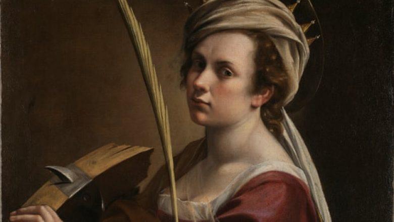 Artemisia Gentileschi (autoportret)
